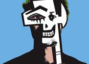 self-portrait: mask / key